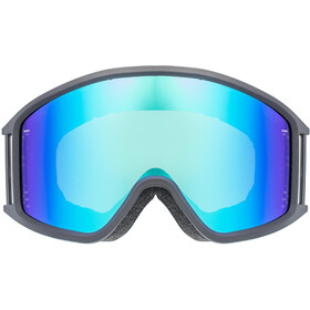 UVEX g.gl 3000 CV Goggles black mat/Colorvision blue fire